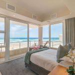 Bedroom overlooking the ocean